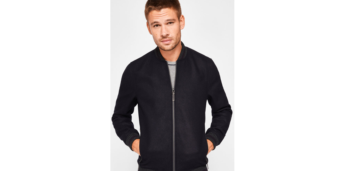 FREDDY Wool bomber jacket