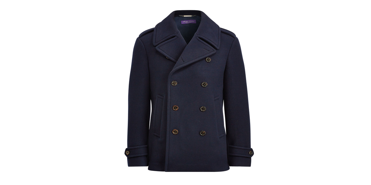 Ralph Lauren Warrington Wool Peacoat