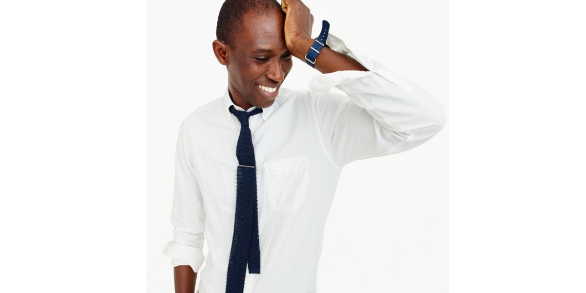 Slim American Pima cotton oxford shirt - J Crew